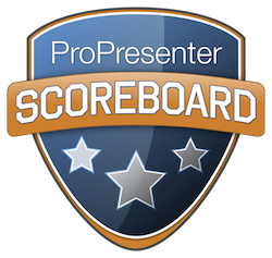 ProPresenter Scoreboard