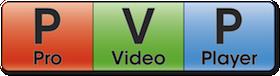 ProVideoPlayer (PVP) Media Server logo